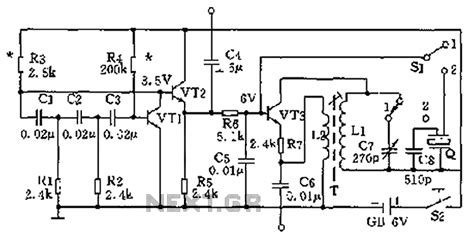 signal generator circuit diagram gt oscillators gt high and low frequency signal generator