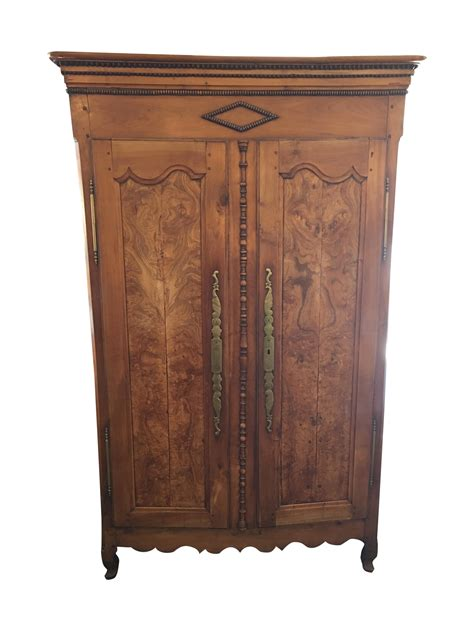 Vintage Tv Armoire by Antique Walnut Armoire With Television Mount Chairish
