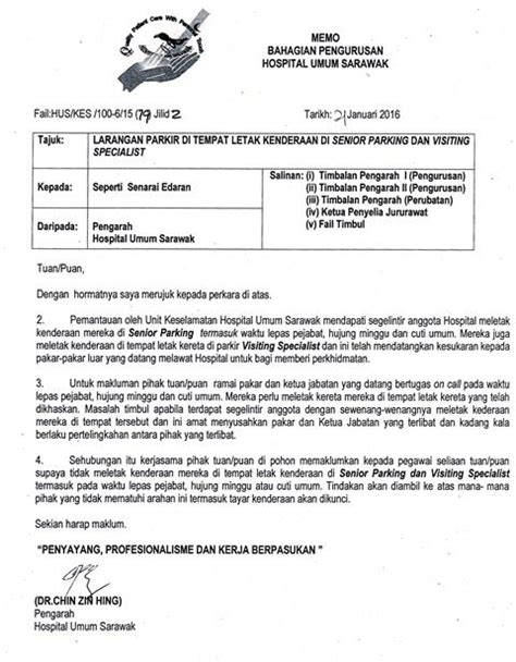 E Resume Spa Gov My by Surat Rasmi Dalam Bahasa Surat Rasmi Rayuan Surat