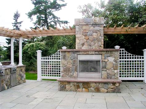 outdoor kitchens and fireplaces pictures to pin on