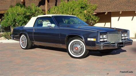1984 Cadillac Eldorado by 1984 Cadillac Eldorado Convertible Ebay