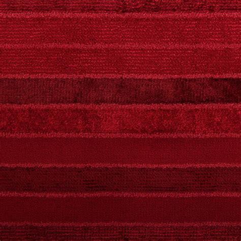 Velvet Stripe Upholstery Fabric Summer Berry Velvet Chenille Stripe Sofa Curtain Cushion