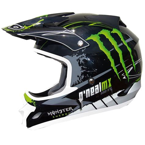 monster helmet motocross oneal 709r tim ferry replica monster energy mx enduro
