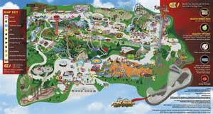 six flags magic mountain 2015 park map