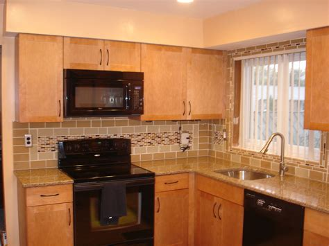 picture of backsplash kitchen black countertops with tile backsplashes for kitchens