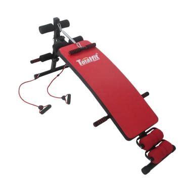 Alat Olahraga Bentuk Sepeda jual total fitness new sit up bench alat fitness harga kualitas terjamin