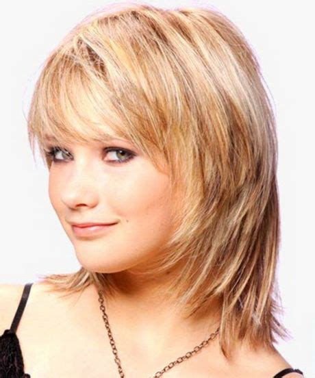 modern shoulder length hairstyles modern medium length haircuts with bangs layers for thick