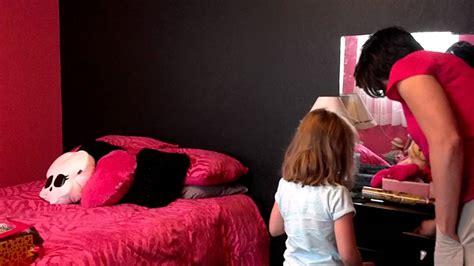 monster high themed bedroom presleighs room make over monster high theme youtube