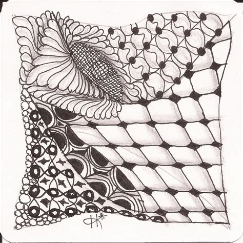 zentangle pattern packet zentangle tiles will hold 60 tiles 6p 10s packet