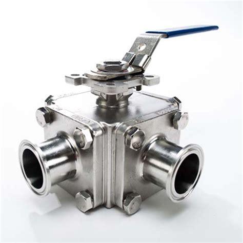 valves three way three way t sanitary valve stainless steel