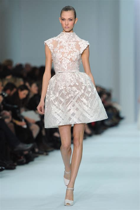 The Mini Debate Couture In The City Fashion by Elie Saab Runway Fashion Week Haute Couture S S