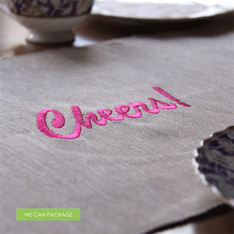 custom table runners diy table runners personalized