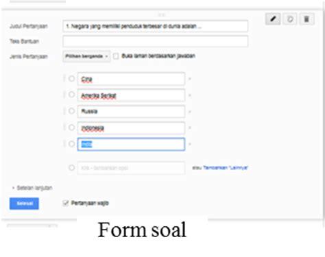 langkah membuat google drive garuda bukateja cara membuat test online dengan google drive