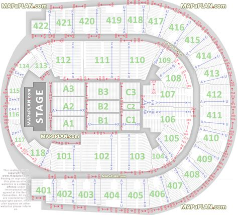 o2 floor seating plan o2 arena london map