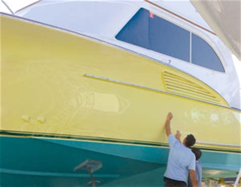 yellow boat paint diy topside painting west marine