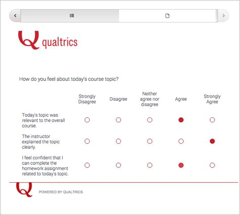 10 38 Qualtrics Survey Tool Building And Running An Edx Course Documentation Qualtrics Survey Templates