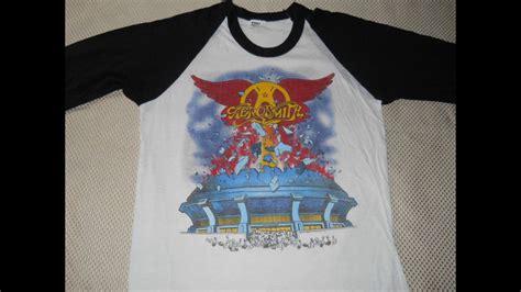 Tshirtkaos Rock 5 Jidnie Clothing 20 Vintage Aerosmith T Shirts