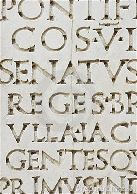 lettere romane antiche letters royalty free stock image image 1439576