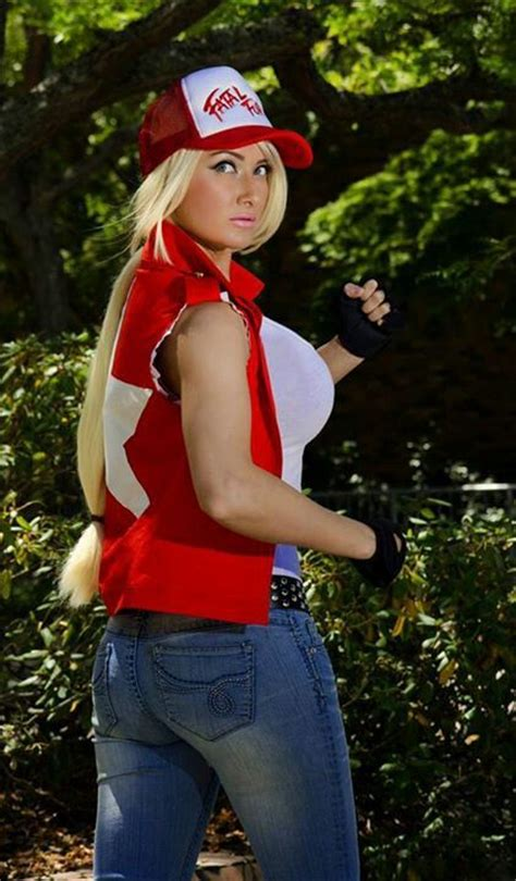 St Channel Babyterry dayna baby lou as terry bogard fatal fury terry o quinn comic con and