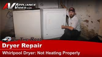 Dryer Will Not Heat Up To Clothes Whirlpool Gas Dryer Repair Does Not Heat Properly