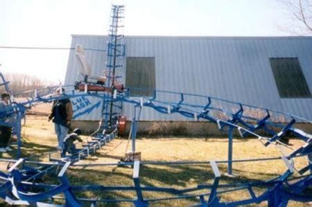 how to build a backyard roller coaster diy backyard roller coaster does 360 176 loop 171 outdoor games wonderhowto