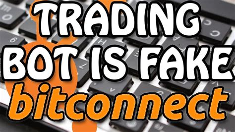 Bitconnect Trading Bot | proof there is no bitconnect trading bot youtube