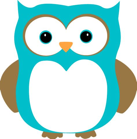 clipart owl blue and brown owl clip blue and brown owl image