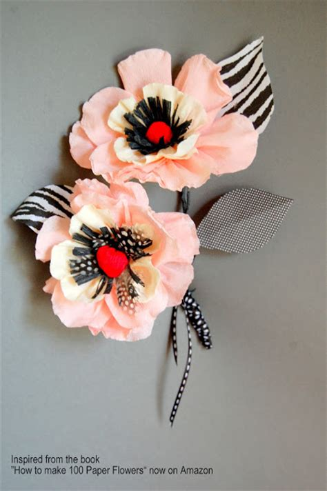 paper anemone flower tutorial tutorial whimsical paper flowers poppy how to make diy