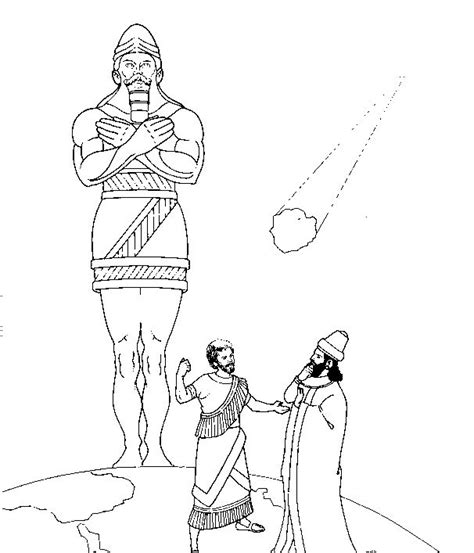 coloring pages book of daniel 18 best bible daniel nebuchadnezzar s dream images on