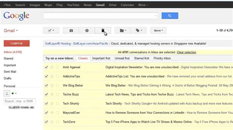 How To Search For Emails On Gmail How To Delete All Emails From Gmail Inbox