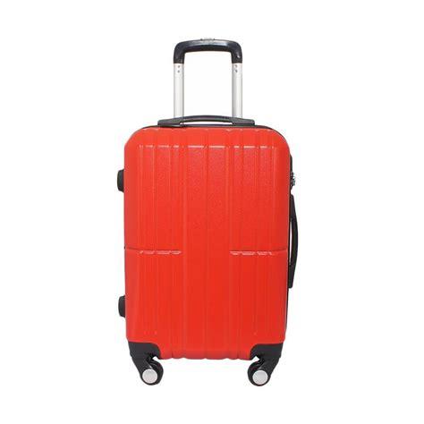 Fiber Merah jual real polo hardcase fiber abs 7717 tas koper merah