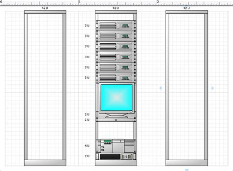 rack cable management visio stencils visio 2010 rack diagram visio free engine image for user