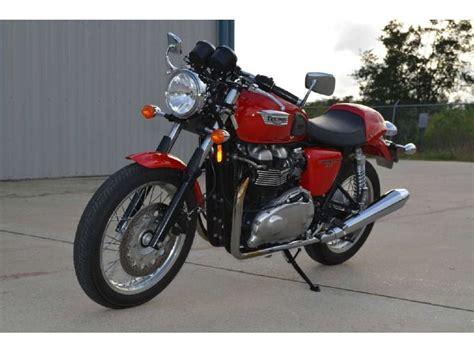 Triumph Thruxton 2012 2012 triumph thruxton diablo for sale on 2040 motos