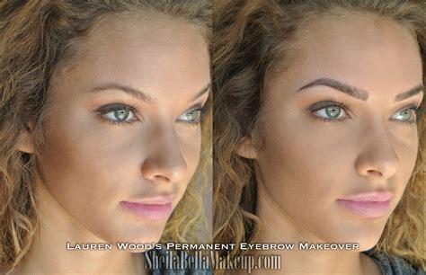 Makeup Artist Houston Brows Sheila Bella Permanent Makeup