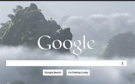 Google Homepage Wallpaper