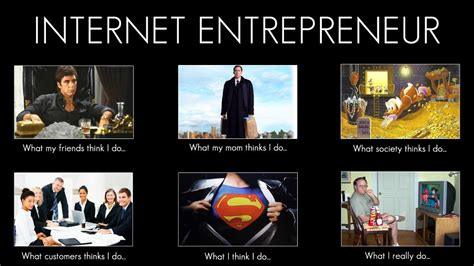Entrepreneur Meme - what i really do showponyfashion