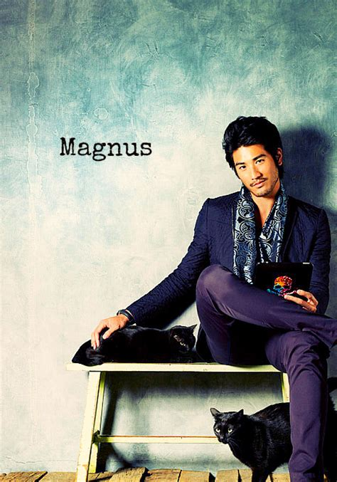 godfrey gao the mortal instruments godfrey gao magnus mortal instruments photo 31523833
