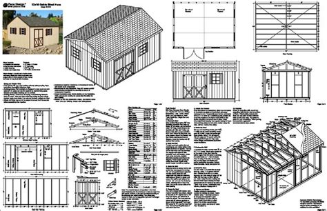 12 X 16 Shed Plans Free by 8 X 16 Shed Plans The Best Way To Choose The Correct