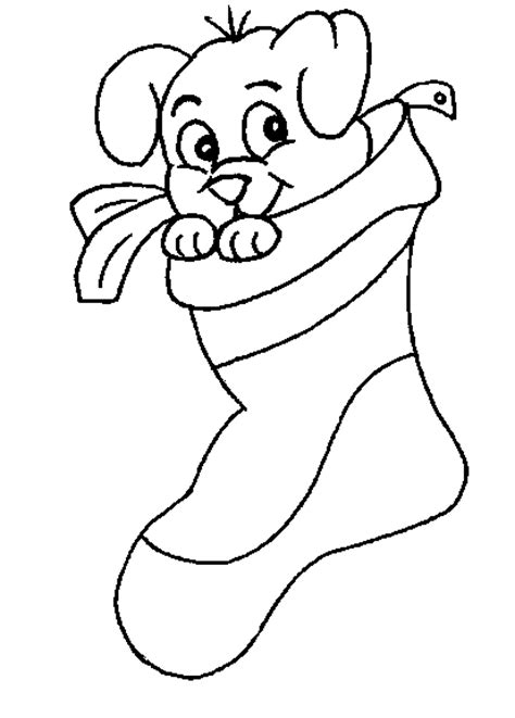 sock free printable christmas stockings coloring pages