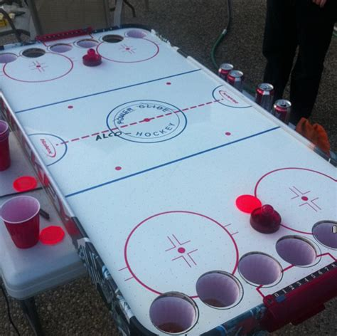 4 Way Air Hockey Table by How To Make Your Own Alcohockey Table Sbnation