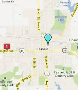 fairfield map fairfield iowa hotels motels see all discounts
