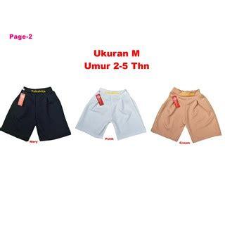 Celana Pendek Anak 1 3 Thn big promo size m 2 5 thn celana kulot anak celana