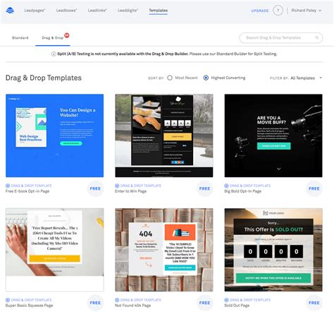 Leadpages Review 2018 From An Early Adopter Leadpages Template Marketplace