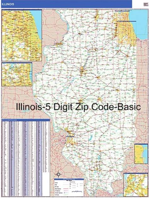 printable zip code map of illinois illinois zip code map from onlyglobes com