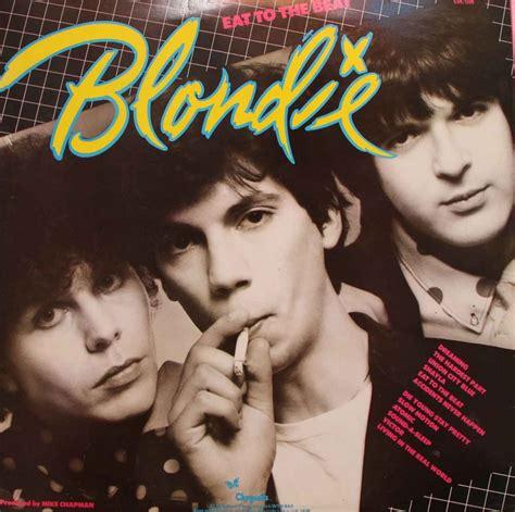 Beat Pop Cover Inner Original blondie eat to the beat vinyl clocks