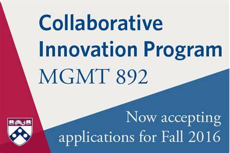 Wharton Mba Pathway by Collaborative Innovation Program Students