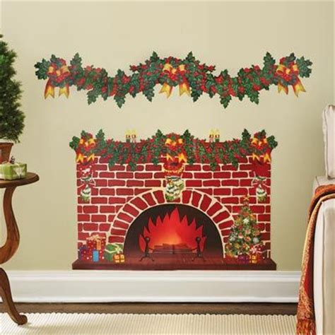 Fireplace Wall Decal by Discover And Save Creative Ideas