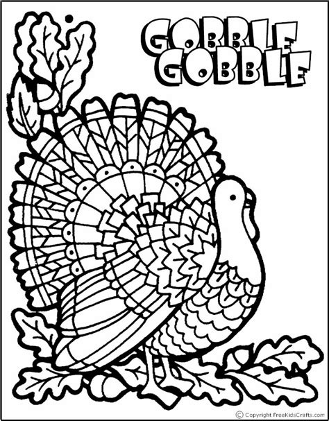 best turkey coloring page thanksgiving coloring pages