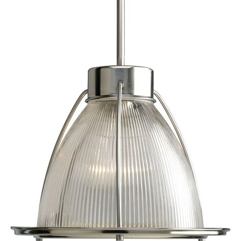 home depot lights exchange progress lighting brushed nickel 1 light pendant the