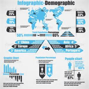 Infographic demographic new style 10 heavenly stock illustration
